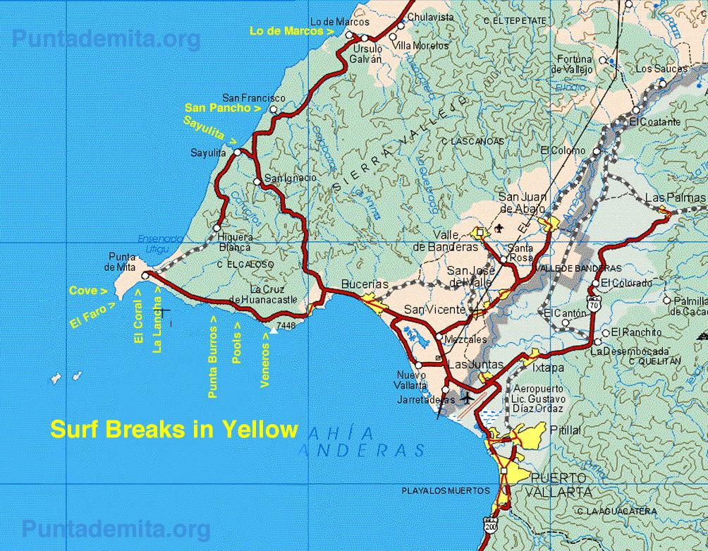 punta mita map choice image